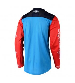Μπλούζα MX Troy Lee Design GP Air Raceshop Ocean