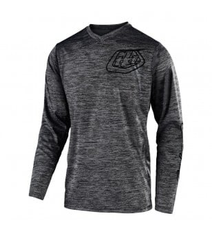 Μπλούζα MX Troy Lee Designs GP Mono Heather Gray