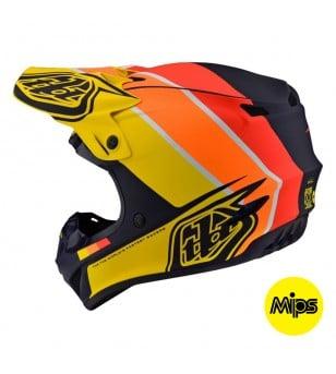 Κράνος Troy Lee Designs SE4 Polyacrylite Beta Navy / Yellow