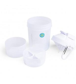 Shaker πολλαπλών χρήσεων - O2GO 600ml Pure White