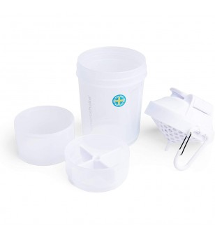 Smartshake Shaker πολλαπλών χρήσεων - Original 2GO 600ml Pure White